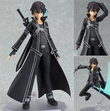 Новые поступления 15 см меч искусство онлайн Kirigaya Kazuto Kirito Figma фигурка CHN Ver/Модель Кукла с мечом оружие фигурка игрушка