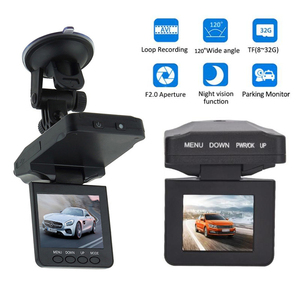"2.4"" TFT LCD Screen 6 IR LED 270 Degrees Rotatable Night Vision FHD Car DVR Dash cam Camera Recorder(China)"