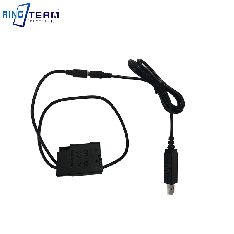EP-5A DC Coupler EN-EL14 Dummy Battery 4017 Connector + QC 3.0 USB Power Cable For Nikon Camera P7700 P7000 D6500 D5500 D5300