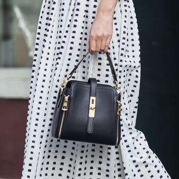 ZOOLER 2020 woman leather bags women Bucket bag luxury handbags genuine leather shoulder bags designed tote bolsos #HS226 цена 2017