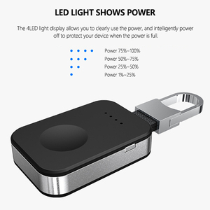 Image 2 - Dây Sạc Không Dây Qi 950 MAh Mini Powerbank Cho Apple IWatch 5 4 3 2 1 Di Động Gắn Ngoài Pin ngân Hàng Sạc Không Dây