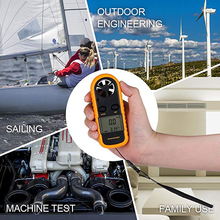 Response Wind Anemometer 816 Tester Universal For Wind Speed Temperature LCD Display With Backlight  Windmeter NTC Thermometer uni t ut361 anemometer wind speed temperature tester wind count units switch wind speed display