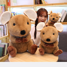 1pcs Soft Lovely Mouse Plush Toy Super Plushie Rat Stuffed Animals Kawaii Doll Mascot for Kids