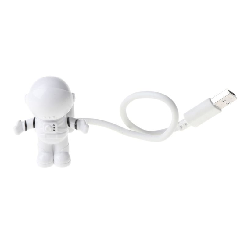 Creative Spaceman Astronaut LED Flexible USB Light Night Light for Kids Toy Laptop PC Notebook 2