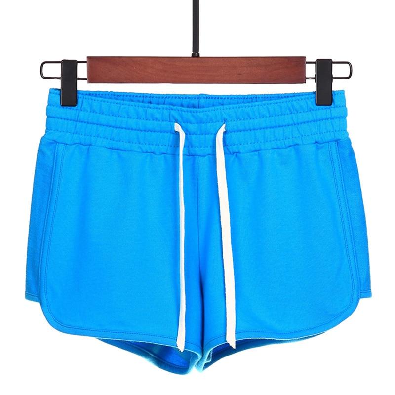2019 New Women Casual Shorts Running Shorts Summer Large Size High Waist Loose Sports Shorts