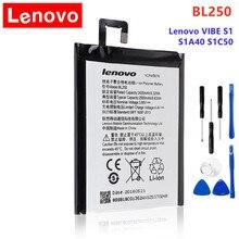 Оригинальное качество BL250 батарея для Lenovo VIBE S1 S1a40 S1c50 высокое качество bl250 мобильный телефон сменный аккумулятор