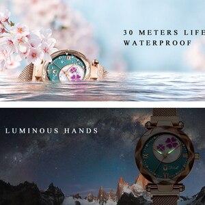 Image 5 - Crystal 2019 Fashion Women Watch Luxury Ladies Watches reloj mujer Female Quartz Wristwatch Full Rhinestone Waterproof Clock