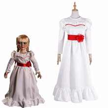 Halloween Girl Adult Costume Anime ConjingDoll Cosplay Cos Female Horror Movie Free Shipping