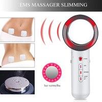 Ultrasound Cavitation EMS Body Slimming Massage Weight Loss Lipo Anti Cellulite Fat Burner Galvanic Infrared VIP DROPSHIPPING