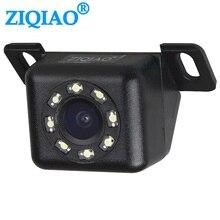 Автомобильная камера заднего вида Универсальная Резервная парковочная камера 8 светодиодный ночного видения широкоградусная Водонепроницаемая камера заднего вида транспортного средства HS068