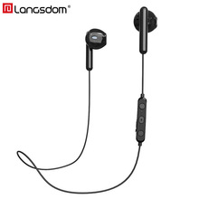 Langsdom E7 Sports Wireless Earphones Half In-ear Stereo Bluetooth Headset Earbuds With Mic fone de ouvido bluetooth for Phone