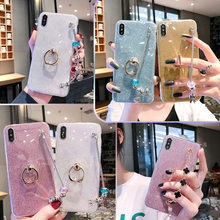 Bracelet Case for Samsung galaxy J5 J7 J3 2016 J300 J310 A3 A5 A7 2017 A720 A8 A9 Star J7 Pro DUO MAX J1 ACE Glitter Cover(China)