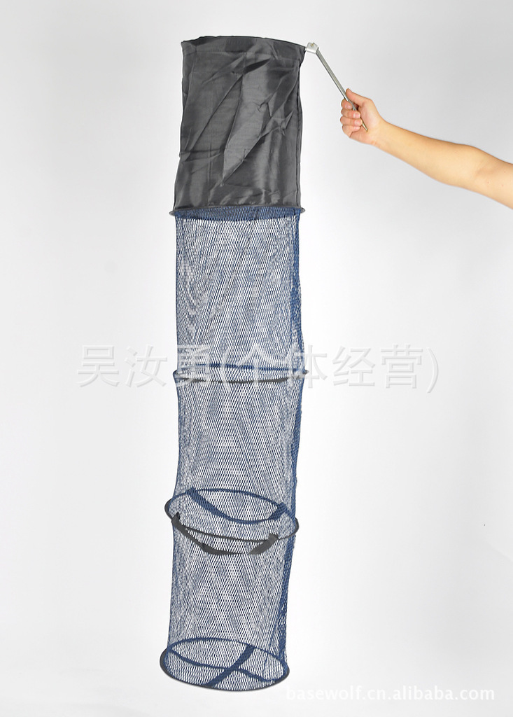 1.5-Meter-High Fish Basket Diameter 30 Centimeter Fish Net Fishing Gear Fishing Tackle Press 10 Integer Shoot 0.35Kg