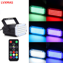 48 Leds Stage Lights RGB Disco Light Voice Activated LED Party DJ Party Holiday Activated Flash Lighting Effect