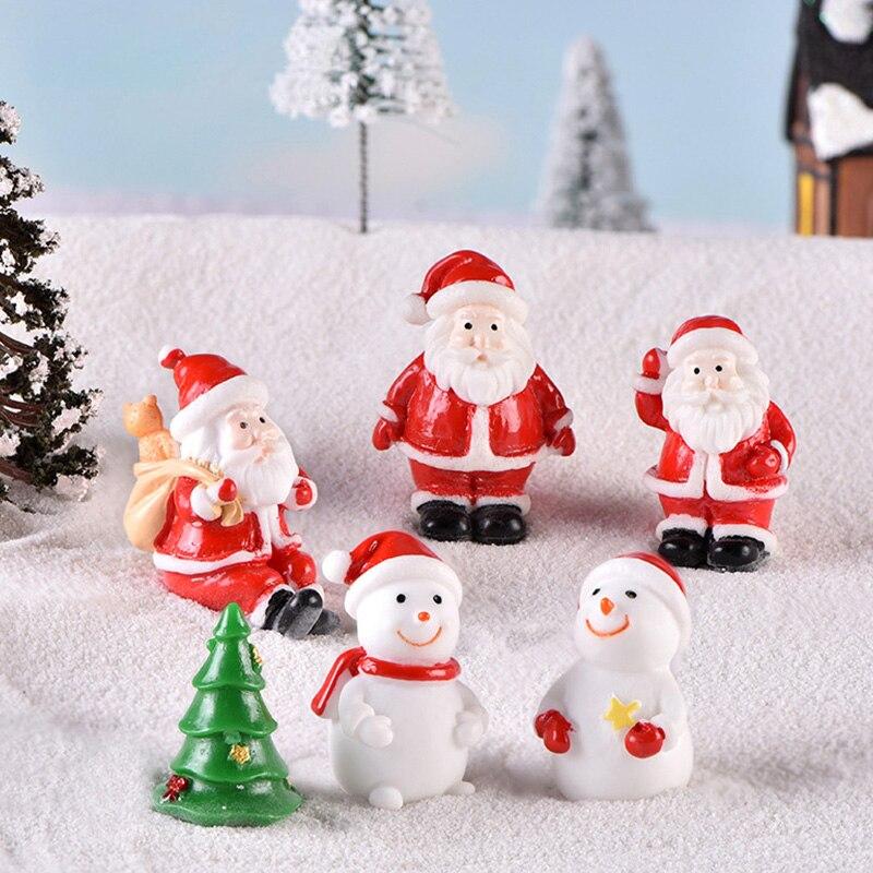 Новый рождественский любовник Санта Клаус Снеговик дерево олень