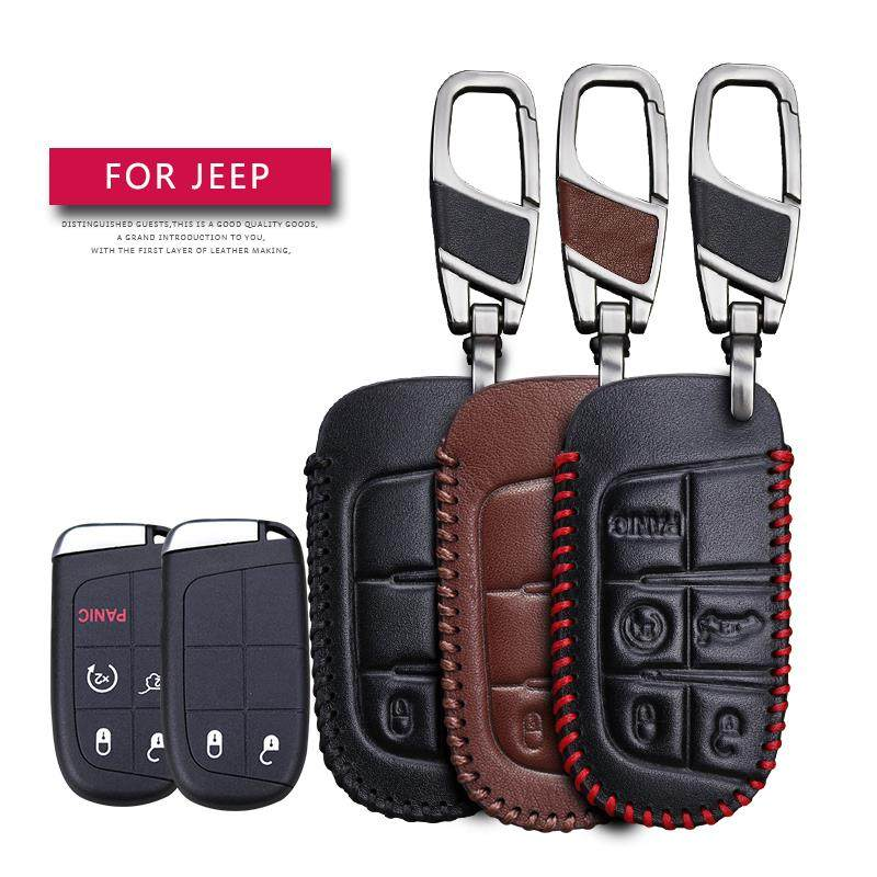 1Pack Leather Key Chain Suit for Dodge Challenger Dakota Charger Ram 1500 Durango Caravan Key Chain Keyring Family Present for Man and Woman