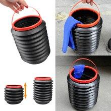 Универсальный Автомобильный Складной 4л ящик для хранения мусорного ведра, органайзер, коробка для хранения, автомобильный контейнер для мусора, держатель для мусора