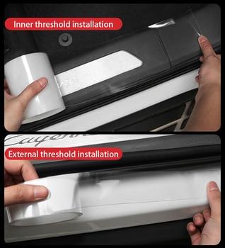 Borde de puerta de coche Universal de 10M/3M, Protector de arañazos Nano, moldura de coche, tira de pegatina, tira de borde, Tira protectora, accesorio de coche