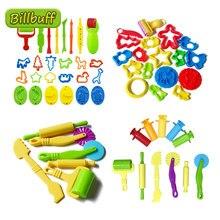 Venda quente diy slime jogar ferramentas de massa acessórios plasticina molde modelagem kit argila slime plástico conjunto cortadores moldes brinquedo para crianças