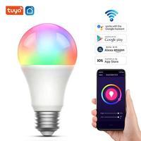Lampadina intelligente a LED 9W 9W E27 Tuya APP WiFi Bluetooth RGB + lampada a colori CCT con lampadina magica dimmerabile Alexa/Google Home