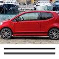 Автомобильные наклейки с боковыми полосками  виниловая пленка  автомобильные декоративные наклейки для Volkswagen Cross Up GT  Стайлинг  автомобильн...