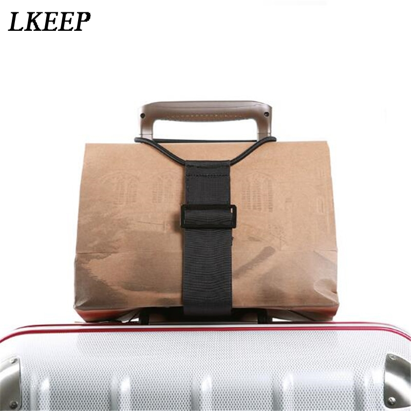 Adjustable Baggage Bungee Luggage Belts Suitcase Adjustable Belt Carrier Strap Travel Accessories Carry On Straps