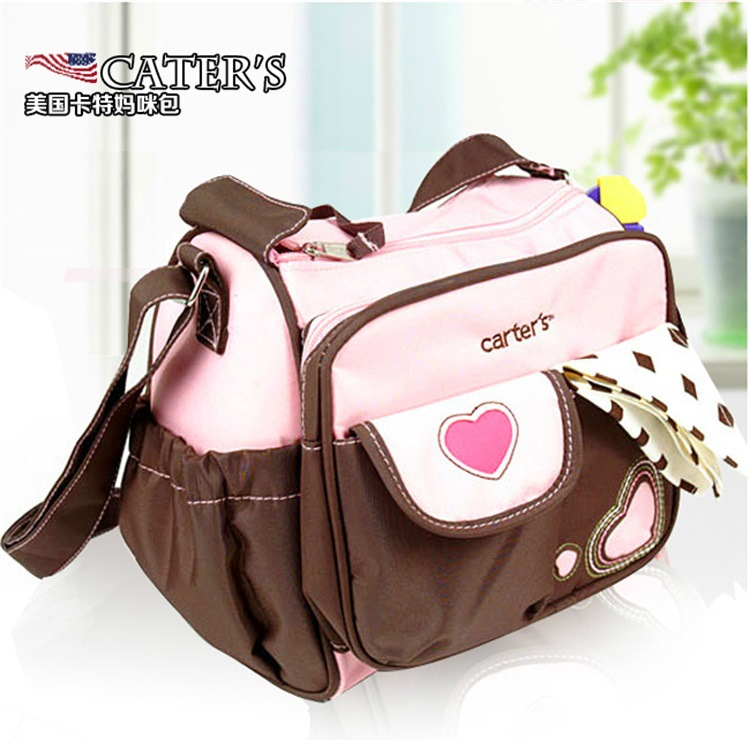 Classic Carter Diaper Bag Small Flower Mommy Bag Cross-body Shoulder Pregnancy And Infant Bag Pregnant Women Supplies Travel Sho