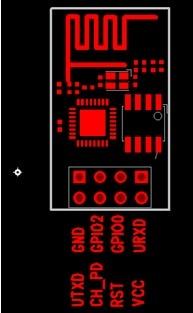 ESP8266EX引脚图 WIFI模块USB-TTL调试