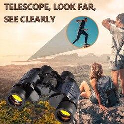 Binoculars With Coordinate Night Vision Binoculars High Magnification And professional waterproof comfortable touch Telescopio