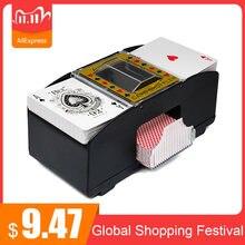 Novo cartão de poker automático shuffler cartão de poker eletrônico shuffling máquina a pilhas cartões jogando ferramenta para casino em casa