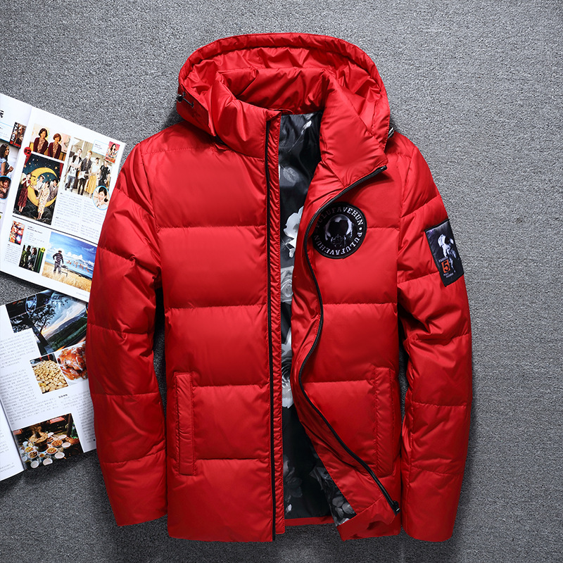 High Quality White Duck Thick Down Jacket Men Coat Snow Parkas Male Warm Brand Clothing Winter Down Jacket Outerwear