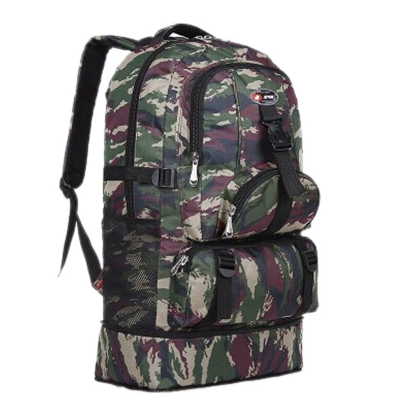 Unisex Men Outdoor Hiking Military Army School Backpack Trekking Casual Travel Rucksacks Camp Trekking Camouflage Bags For Male