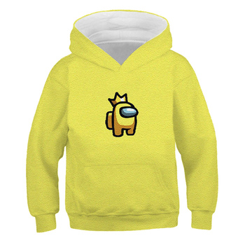 2020 Among Us Hoodie Kids Size Boys&Girls Long Sleeve Hooded Sweatshirts Children's Hoodies Street Style Games Harajuku Clothes 2