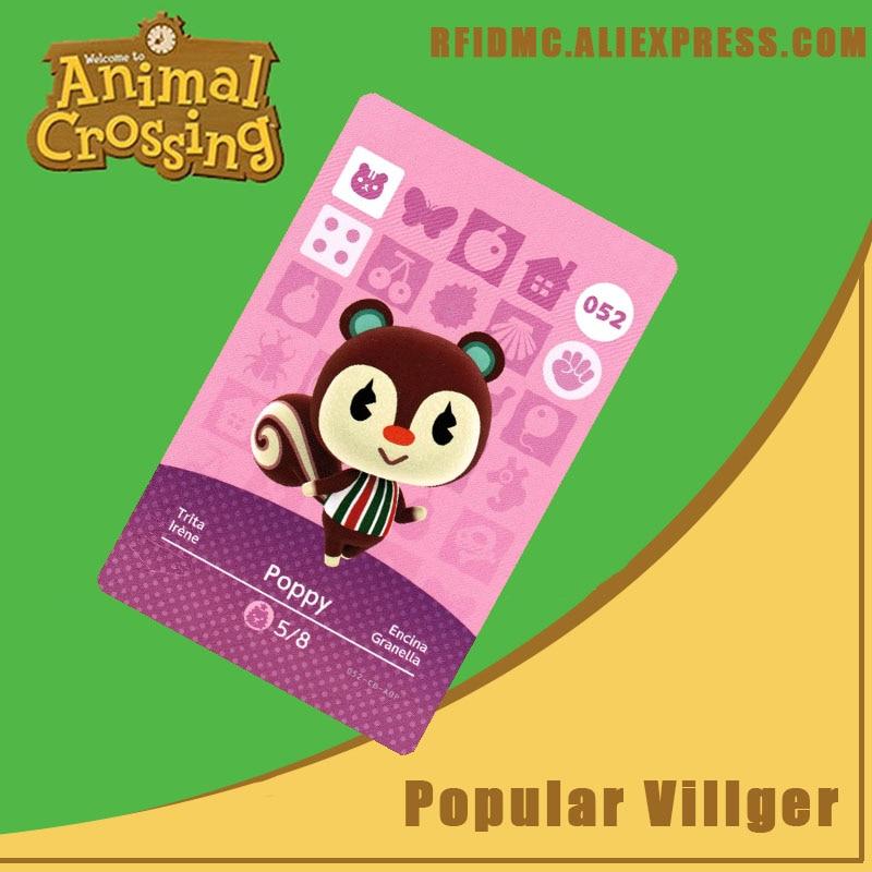 052 Poppy Animal Crossing Card Amiibo For New Horizons