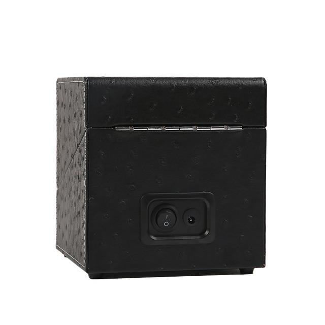 Cuerda para reloj de madera automática, caja para relojes, organizador de bobinado, soporte para ataúd, caja de Motor de rotación de cadena silenciosa