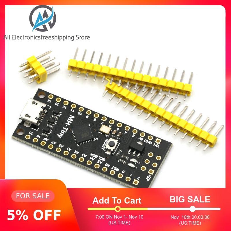 MH-Tiny ATTINY88 Micro Development Board 16Mhz /Digispark ATTINY85 Upgraded /NANO V3.0 ATmega328 Extended Compatible For Arduino
