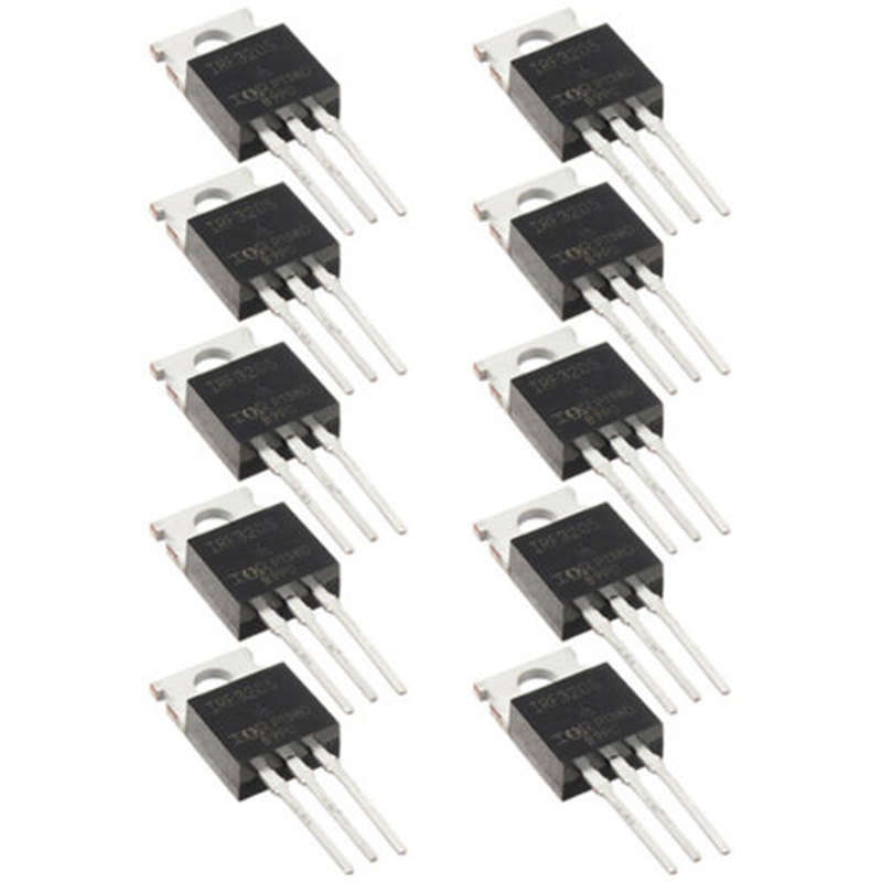 10pcs /lot IRF3205 IRF3205PBF Fast Switching Power Mosfet Transistor N-channel