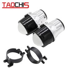 Taochis M6 Car 2.5 inch Hi/Lo Fog Lamp Projector Lens Kit H11 Bi Xenon Bulbs Crystal Clear foglights for Lexus GS RX CT200 taochis m6 2 5 inch fog light projector lens oem for toyota corolla prado camry yaris levin fog light hid bi xenon h11
