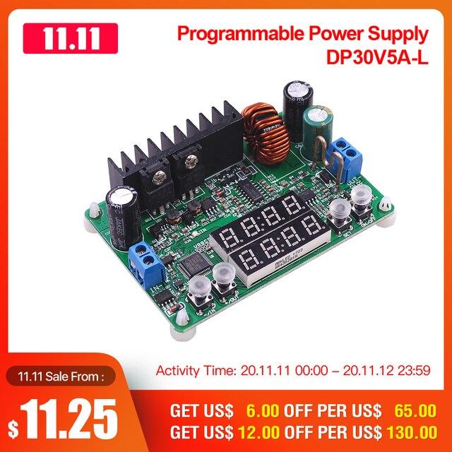 RD DP30V5A L sabit gerilim akım adım aşağı programlanabilir güç kaynağı modülü buck gerilim dönüştürücü regülatörü LED ekran