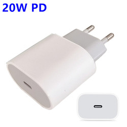 20W PD Charger Quick Charge 3.0 EU Wall Charger Adapter for iPhone 12 Pro 12 mini 11 Fast Charging for Samsung Xiaomi
