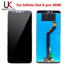 Touch Screen For Infinix Hot 6 pro X608 LCD Display With Touch Screen Assembly(China)