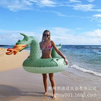 Inflatable Water Dragon Swim Ring Charizard Adult Swimming Tube Manufacturers Profession Production PVC Dinosaur Riding