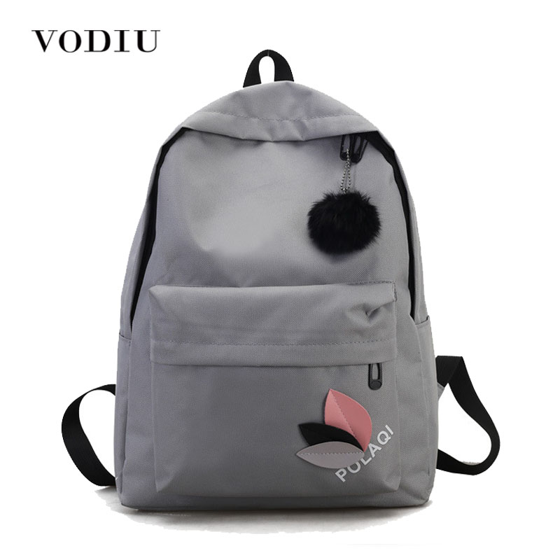 Women Backpack Female's Canvas School Bags For Teenage Girls Women's Leaves Backpack Fresh New Large Capacity Travel Bag