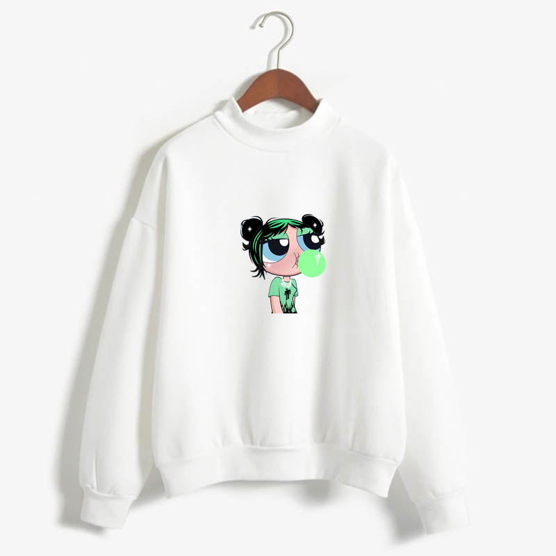 2019 Harajuku Sweatshirt Whoopass Girls Craig MacCracken Main Theme End Theme Buttercup Power Puff Aesthetic  Bellota Las Chicas