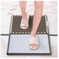Automatic Foot Mat Sanitizing Footbath Mat Disinfecting Floor Mat Water Absorbent Door Pad for Hotel Restaurant Home Shop WJ722