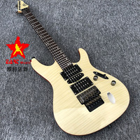 2020 High quality Floyd rose Eart Electric Guitar,EGSL 313H Chinese best Electric Guitar Ultrathin body Black hardware freeshipp