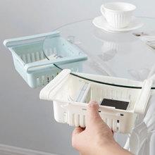 Lodówka pudełko do przechowywania świeżych produktów tanie tanio refrigerator fresh storage rack Rodzaj haczyka Nie-składany stojak Żywności Pojedyncze Kuchnia Przechowywanie posiadaczy i stojaki