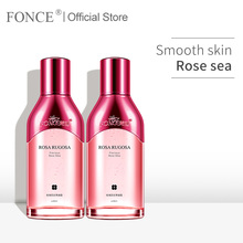 Fonce Rose Concentrate Essential Oil Niacinamide Brighten Complexion Toner Moisturizing Men and women Softening Lotion 80ml