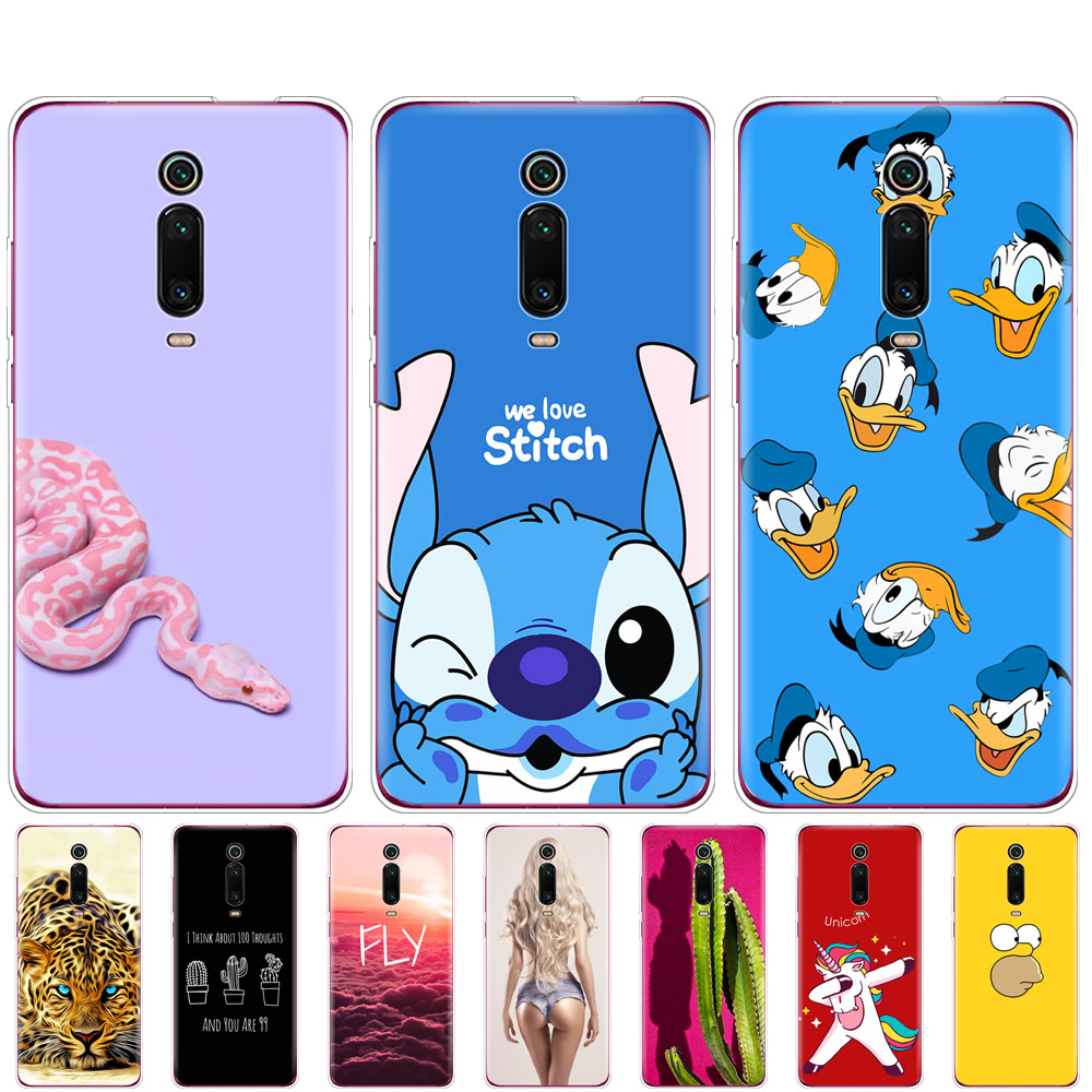 for xiaomi redmi <font><b>k20</b></font> Mi 9T <font><b>case</b></font> bumper soft silicon phone cover on for hongmi redmi <font><b>k20</b></font> <font><b>pro</b></font> mi 9T <font><b>PRO</b></font> coque fundas shockproof image