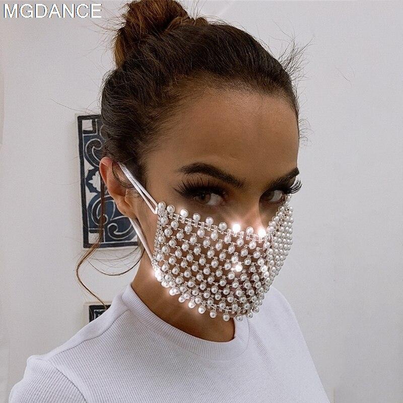 mode-perle-masques-fete-spectacle-costume-performance-soiree-club-danse-vetements-chanteur-costume-pierres-masque